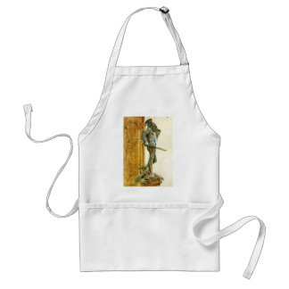 Perseus, Florence  by John Singer Sargent Apron