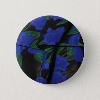 Persian Blue Designer Collection 2017 6 Cm Round Badge