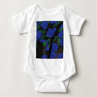 Persian Blue Designer Collection 2017 Baby Bodysuit