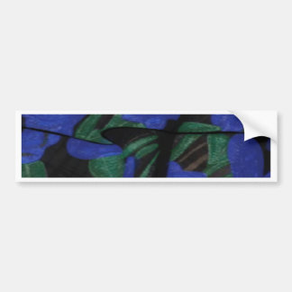 Persian Blue Designer Collection 2017 Bumper Sticker