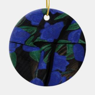 Persian Blue Designer Collection 2017 Round Ceramic Decoration