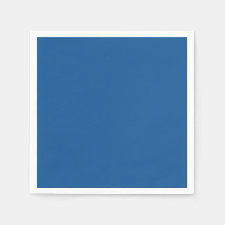 Persian Blue Personalized Trend Color Background Paper Napkin