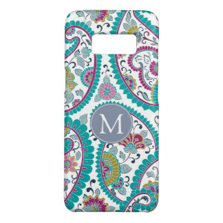 Persian Boteh Paisley Pattern Monogram Samssung C Case-Mate Samsung Galaxy S8 Case