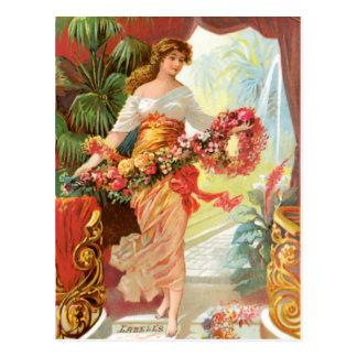 Persian Bouquet Perfume Postcard