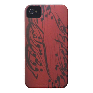 Persian Calligraphy Poem iPhone 4 Case-Mate Case