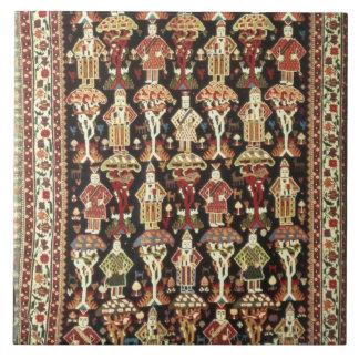 Persian carpet, 19th-20th century ceramic tile