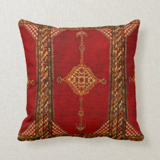 Persian carpet pattern cushion