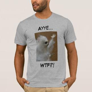 Persian cat meme Ayye WTF shirt