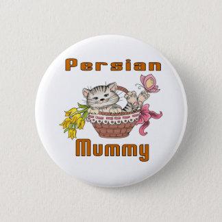 Persian Cat Mom 6 Cm Round Badge