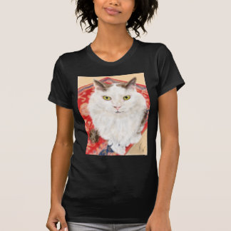 Persian cat on a red Persian carpet T-Shirt