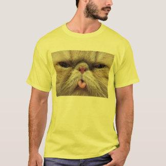 Persian Cat Sticking Tongue Out T-Shirt