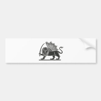 Persian Lines of Communication Bumper Sticker