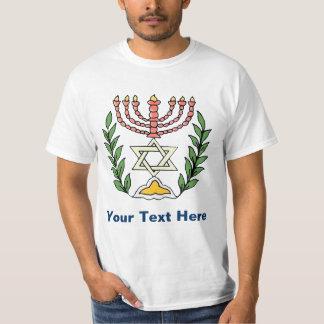 Persian Magen David Menorah T-Shirt
