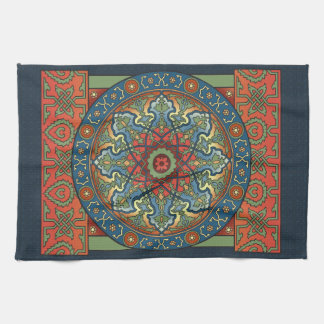 Persian Mandala Tea Towel