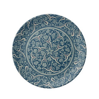 Persian Medallion Porcelain Plate