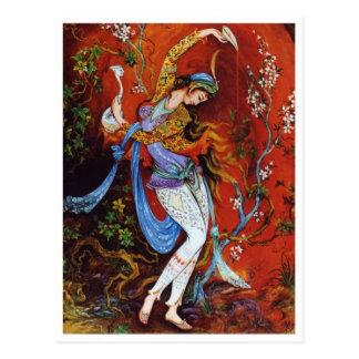 Persian Miniature Painting postcard