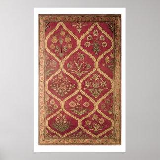 Persian or Turkish carpet, 16th/17th century (wool Print