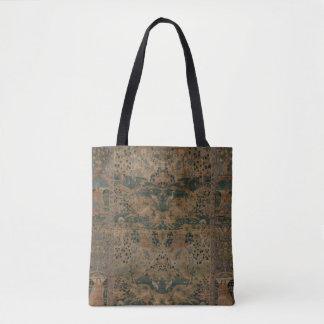 Persian Pictorial Carpet Tote