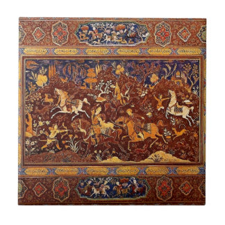 PERSIAN ROYAL HUNT DESIGN. TILE