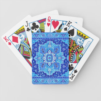 PERSIAN RUG - Blue Bicycle Playing Cards