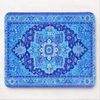 PERSIAN RUG - Blue Mouse Pad