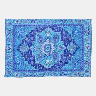 PERSIAN RUG - Blue Tea Towel