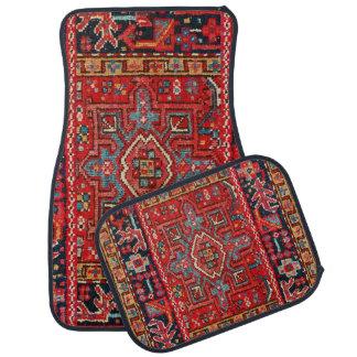 Persian Rug Design Set of 4 Car Mats Car Mat