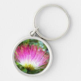 Persian Silk Tree Flower Key Ring