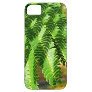 Persian Silk Tree leaves iPhone SE+5/5S Case