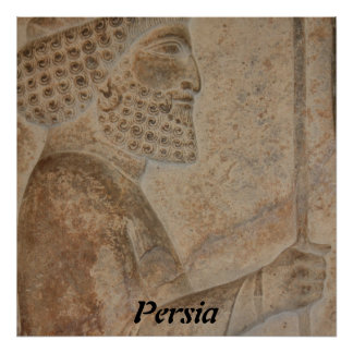 Persian Soldier Poster