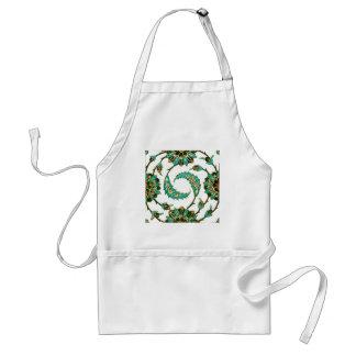 Persian Swirl Standard Apron