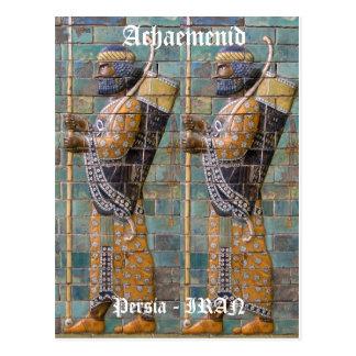 Persian Warrior Postcard