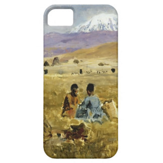 Persians Lunching on the Grass by Edwin Lord Weeks iPhone 5 Cases