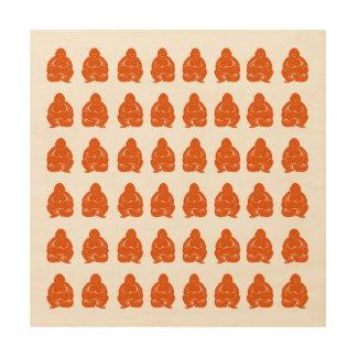 Persimmon Asian Moods Buddah Boys Wood Wall Decor