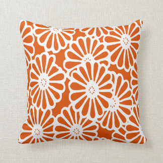 Persimmon Asian Moods Floral Cushion