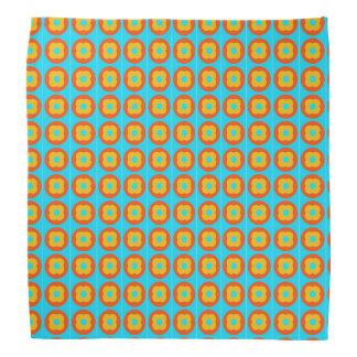 persimmon pattern bandana
