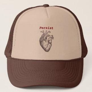 Persist ~ Heart Trucker Hat