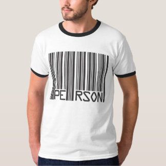 Person Barcode T-Shirt