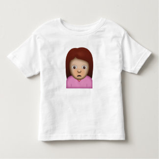 Person Frowning Emoji Toddler T-Shirt