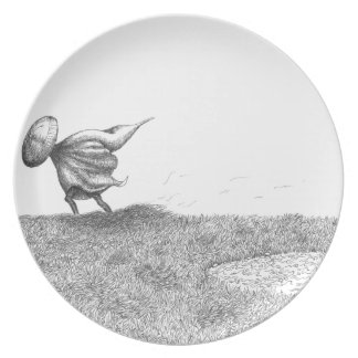 Person of traveling plate