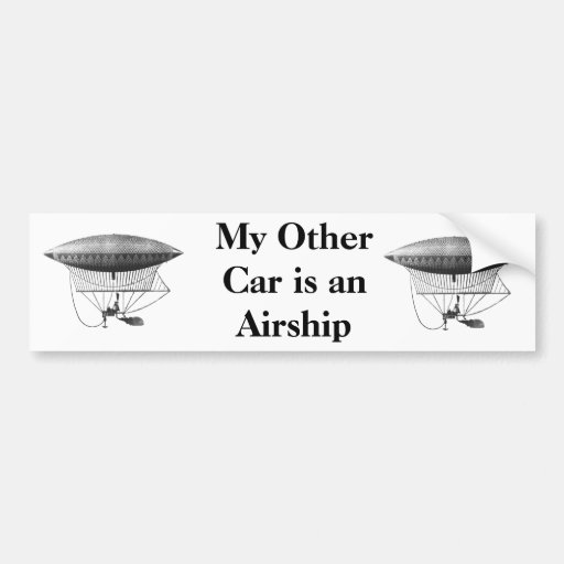 Personal Airship Bumper Sticker