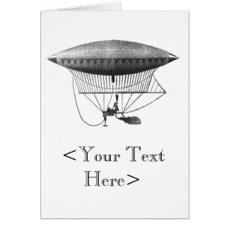 Personal Airship, Vertical Card