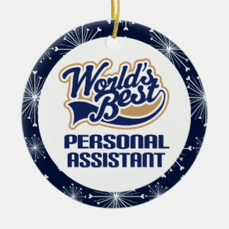 Personal Assistant Gift Christmas Keepsake Ceramic Ornament