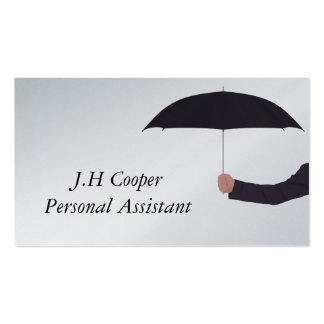 Personal Assistant Umbrella Pack Of Standard Business Cards