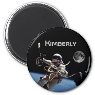 Personal Astronaut Space Walk Magnet