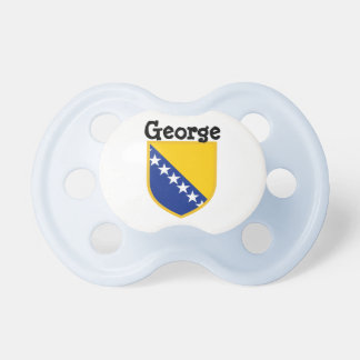 Personal Bosnia Flag Baby Pacifiers