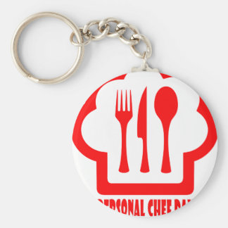 Personal Chef Day - Appreciation Day Basic Round Button Key Ring