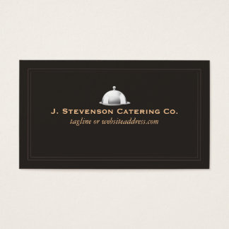 Personal Chef Fine Catering Cater Business Card