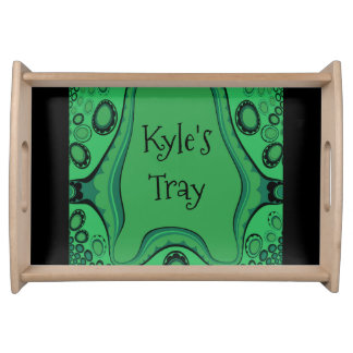 Personal_Child's-Tray_Monogram_SM_ Serving Tray