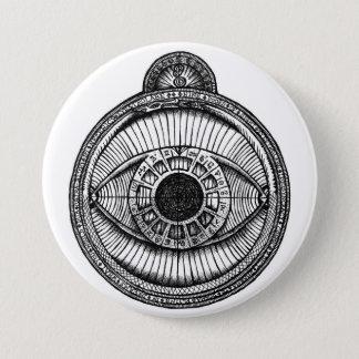 Personal Eyestrolabe 7.5 Cm Round Badge